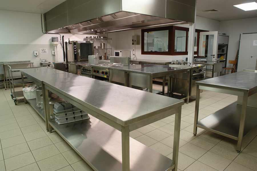 Professional Industrial Kitchen