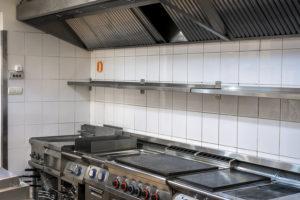 Modern Kitchen In The Restaurant